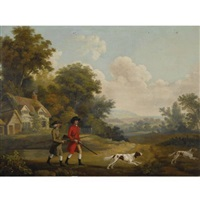 the hunt by george stubbs