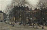 korte voorhout and the lange vijverberg, the hague by floris arntzenius
