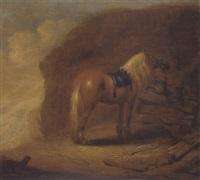 le repos au cheval by pieter cornelius verbeeck