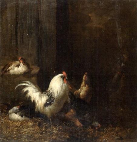 coqs et poules by michel eudes de l hay