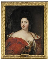 potrait of sophie charlotte, queen of prussia by jacques vaillant