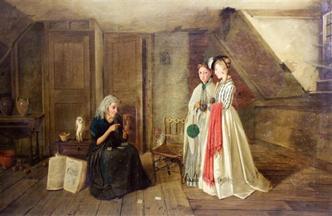 the fortune teller by charles hunt