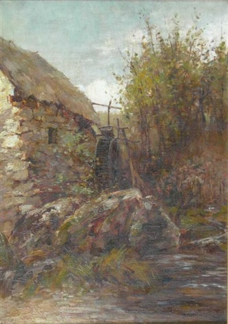 the old watermill another 2 works by james herbert snell