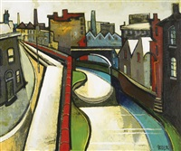 road and canal by geoffrey key
