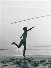 juliette nue sur la plage by pierre boucher