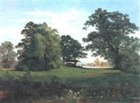 cervi nel paesaggio by hermann reichsfreiherr von königsbrunn