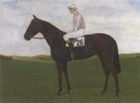 """mixte"", with jockey up by richard anscomb"