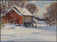 resting at the barn by manly edward macdonald