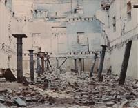 architectural ruin by carlos garaicoa