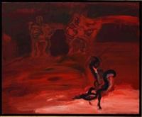 teatro flamenco (tríptico 2) by luis filcer
