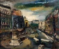 place de clichy by olivier foss