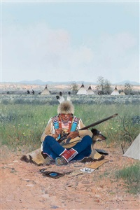 crow camp by michael coleman