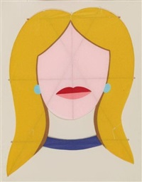 blonde kite by tom wesselmann