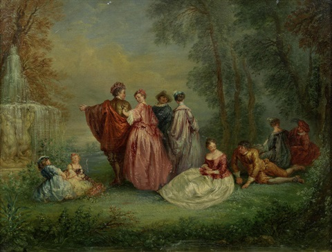 jean antoine watteau and the people Antoine watteau, in full jean-antoine watteau, (born oct 10, 1684, valenciennes, france—died july 18, 1721, nogent-sur-marne), french painter who typified the lyrically charming and graceful style of the rococo.