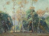 santa anita oaks by clyde forsythe