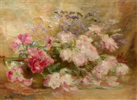jeté de roses by edmond allouard