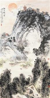 锡山风光图 by liu dajiang