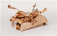 violoncelles (table base) by arman
