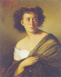 bildnis clementina weyl by joseph mathäus aigner