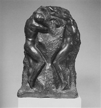 two figures by george grey barnard
