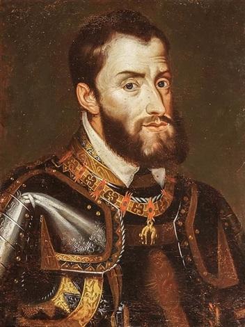 Portrait of Charles V, Holy Ro...