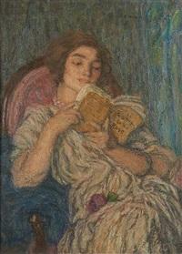 le roman de la rose by edmond françois aman-jean