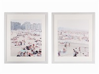 knokke (2 works) by massimo vitali