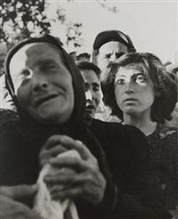 israël - funérailles by robert capa