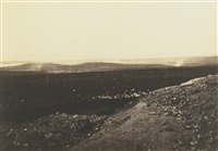 the mamelon & malakoff (from the mortar battery) by roger fenton