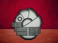 le phénicien (study) by franco adami