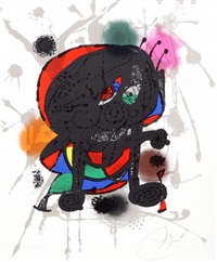 lithographs iii by joan miró