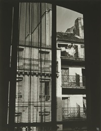mein fenster, rue de vaugirard. paris by ilse bing