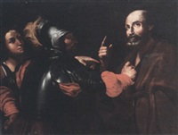 the denial of st peter by caravaggio essay The metropolitan museum of art has reunited two of the final paintings by michelangelo merisi da caravaggio (1571-1610) the martyrdom of saint ursula, on exceptional loan from the banca intesa sanpaolo in naples, joins the denial of saint peter, owned by the met, for the first time since a 2004 .
