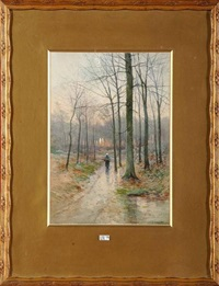 fagotière en forêt by ferdinand coenraets