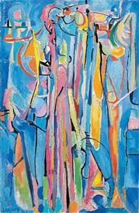 le ciel et les sons de trompette by andré lanskoy