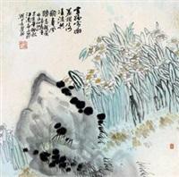 水仙 by liu guohui