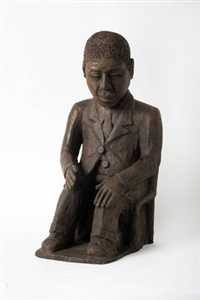 seated man by noria mabasa