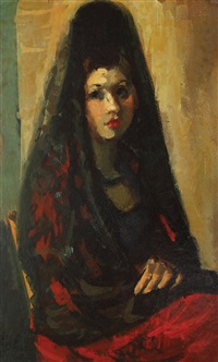 spanish woman by iosif iser