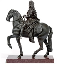 equestrian model of king philip v of spain by lorenzo vaccaro