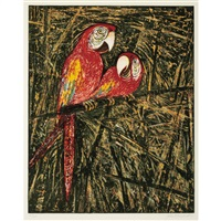 parrots by john alexander
