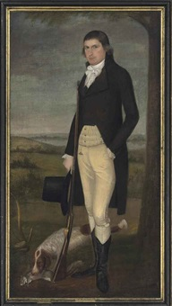 portrait of nathaniel shaw woodbridge by ralph earl