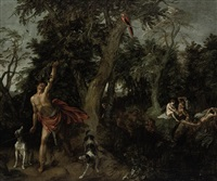 diana and actaeon by david colyns