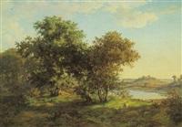 a landscape by hans jörgen hammer