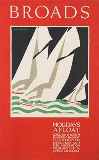 broads, holidays afloat by freda lindstrom