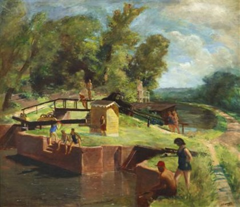 the canal by walter stuempfig