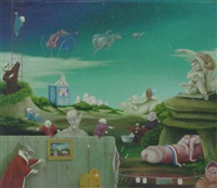 surrealistic world by hans kanters