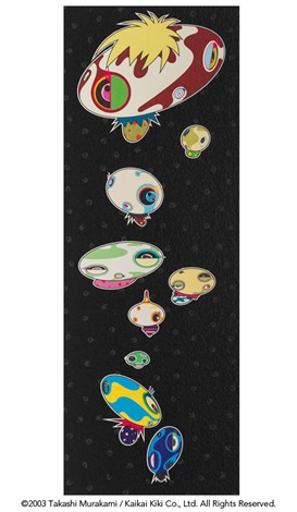 mushroomers by takashi murakami