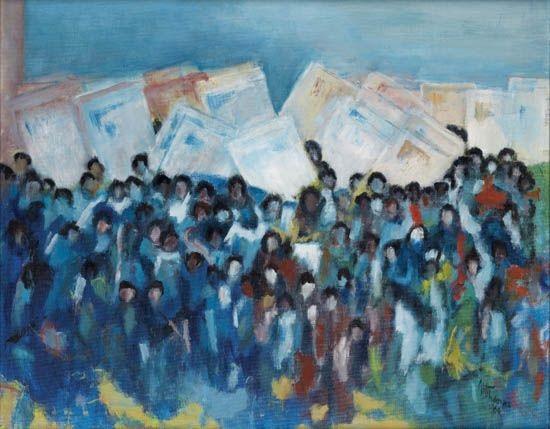 march on washington by alma woodsey thomas
