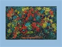 blumenstillleben by pola aivazian-rossi