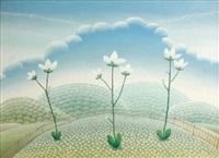 fiori azzurri by ivan rabuzin